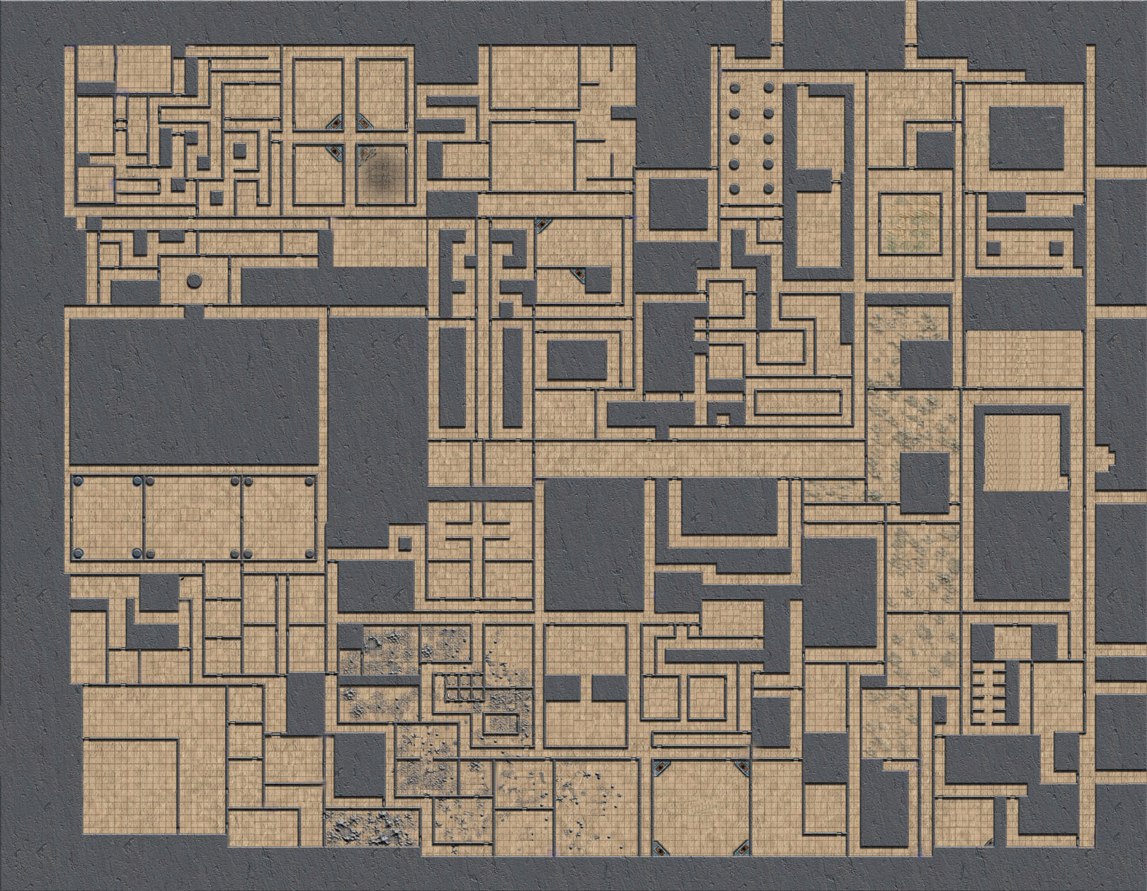 photograph about Printable Dungeon Tiles Pdf identified as Worlds Biggest Dungeon Downloads